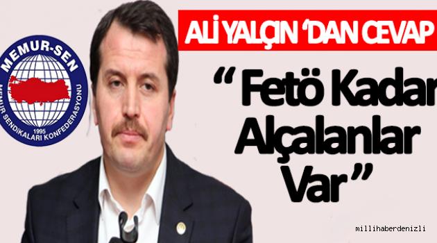 Ali Yalçın'dan O İddalara Sert Cevap