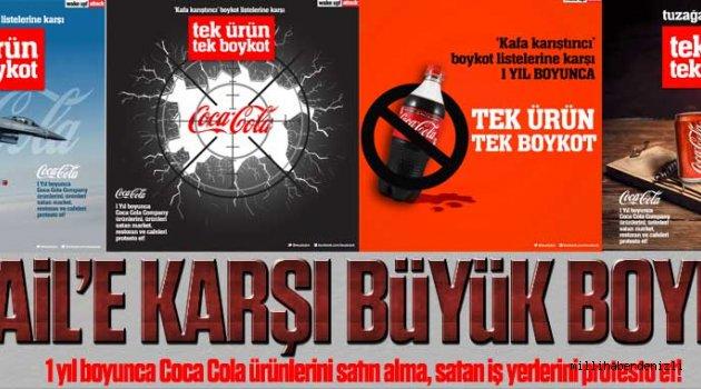 İsrail'e destek veren Coca Cola kara listede