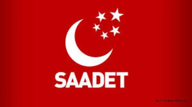 SAADET PARTİSİ'NDEN İKTİDARA 3 ÖNEMLİ İKAZ !